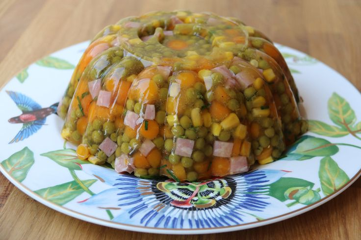 Charlotte jambon, petits pois et maïs (recette Tupperware)