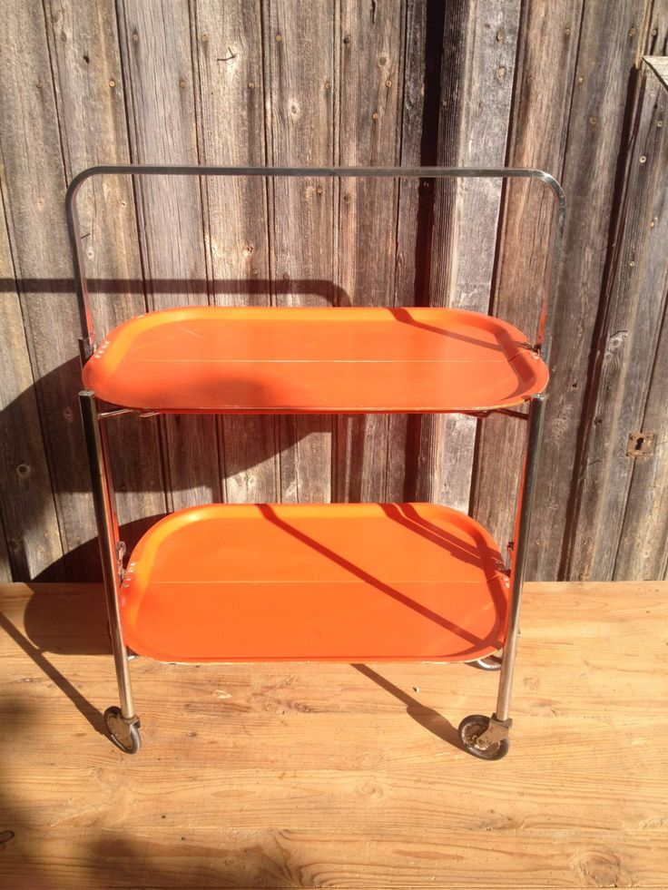 1182 best images about 1960 1970 on pinterest 1970s - Table desserte roulante pliable ...