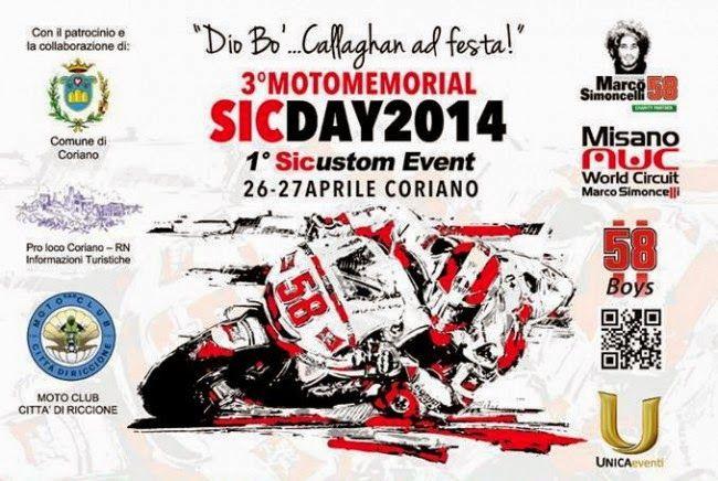 Motomemorial Sic Day - 26 e 27 Aprile | Motor Fuel