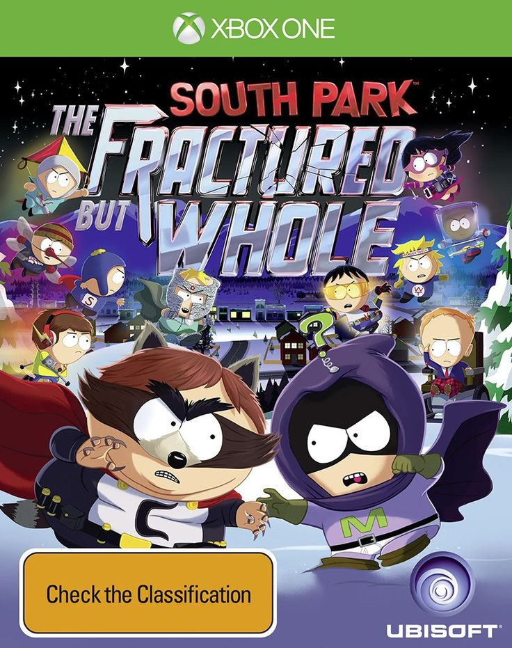 From the creators of South Park, Trey Parker and Matt Stone, comes South Park: The Fractured but Whole, a sequel to 2014's award-winning South Park: The Stick of Truth. Players will once again assume the role of the New Kid, and join South Park favorites Stan, Kyle, Kenny and Cartman in a new hilarious and outrageous RPG adventure.  In South Park: The Fractured but Whole, players will delve into the crime-ridden underbelly of South Park with Coon and Friends. This dedicated group of cri...
