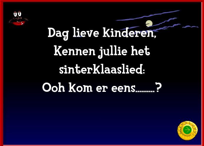 Superleuk Sinterklaas spel voor het Digibord!