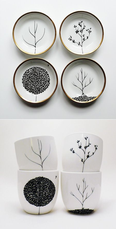 Mug, Sharpie design on mug, 350 degree oven for 30 min. Art! via Gabriel Coco Pineapple