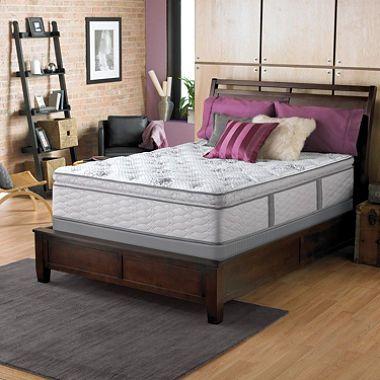 Serta Perfect Sleeper Dunway Plush Super Pillowtop Full Mattress Set