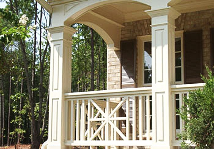 1000 images about porch makeover on pinterest craftsman for Wrap around porch columns