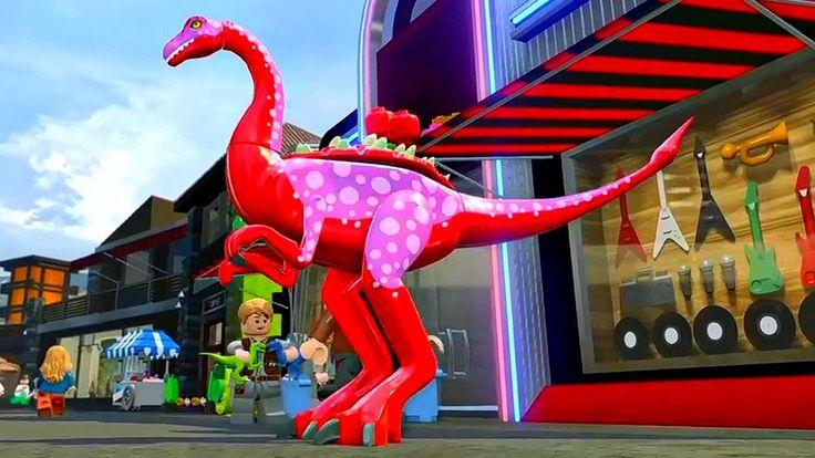 Мир Юрского Периода.Динозавр Галлимимус.Игры Мультики про Динозавров.Leg...