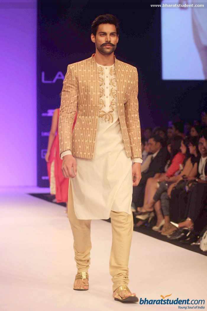 Suit by Debarun Mukherjee at LFW 2013