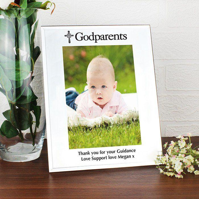 18 best Baptism Gift for Godparents Christening Frame images on ...
