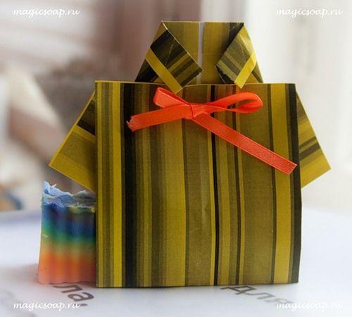 Как оригинально упаковать подарок мужчине