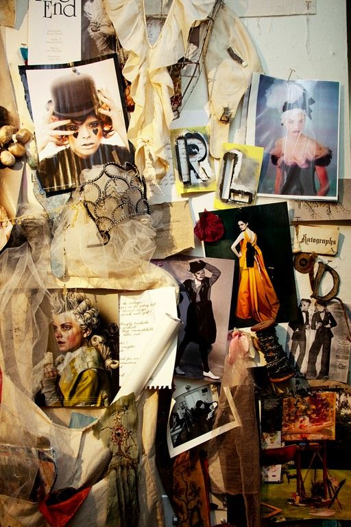 Fashion Moodboard - Circus & Costume inspirations mood board