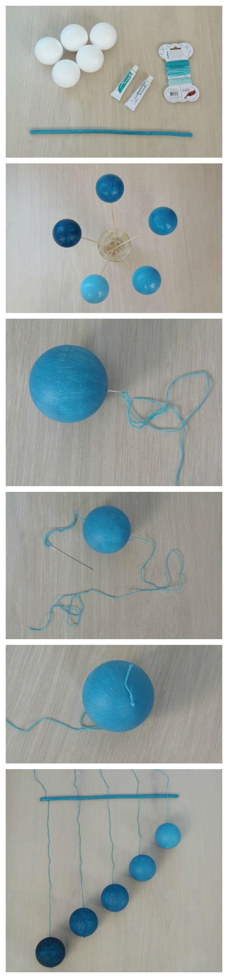 "Móvil de bebé ""Gobbi"" (Tutorial) - DIY ""Gobbi"" baby mobile • Montessori en Casa"