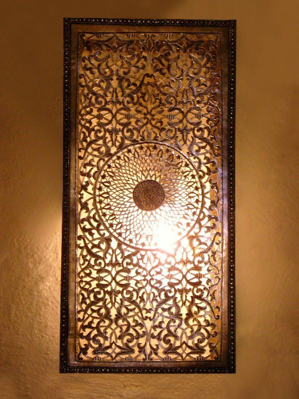 Moroccan Wall Lights Silver : 172 best images about Wall Decor on Pinterest