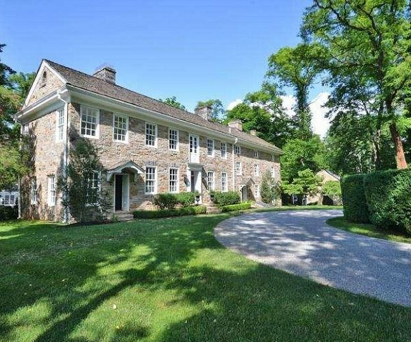 Longwood An Old Stone House For Sale In Bucks County