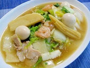 #2 Ika squid recipe on Rakuten Happosai - プロ直伝!八宝菜