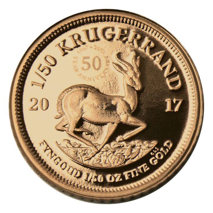 2017 South Africa 1/50 oz. Gold Krugerrand Proof GEM Proof Original Capsule&COA