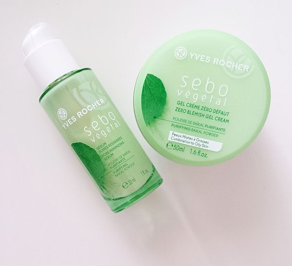 Yves Rocher Sebo Vegetal | I have the face cream, the serum (and the micellar water too), are very light and non-oily, good products!