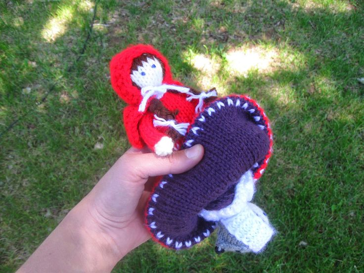 Knitting Pattern For Little Red Riding Hood Doll : Lehcar Studio: Little Red Riding Hood Topsy Turvy Doll ...
