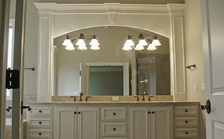 Trim Around Bathroom Mirror