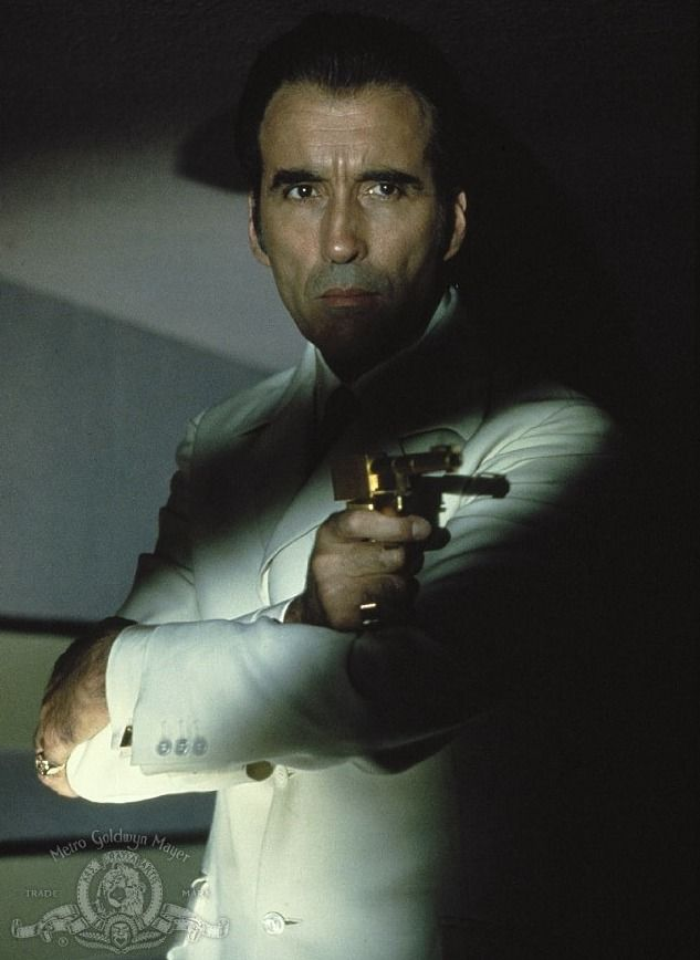 "Christopher Lee as Scaramanga was one of the best villains! - ""The Man With The Golden Gun"" (1974)"