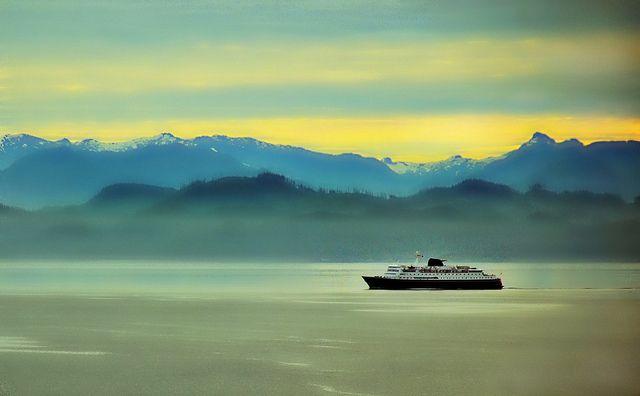 Misty Morning Sunrise - Alaska Landscape https://www.flickr.com/photos/blmiers2/6159637428/