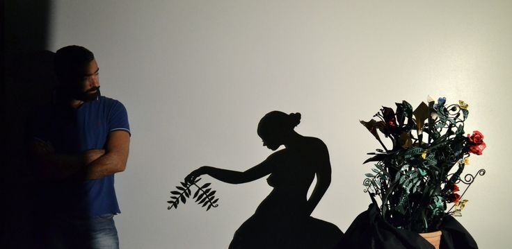 Polymnia..ancient greek muse of Art ... #shadow #shadowart #teodosiosectioaurea