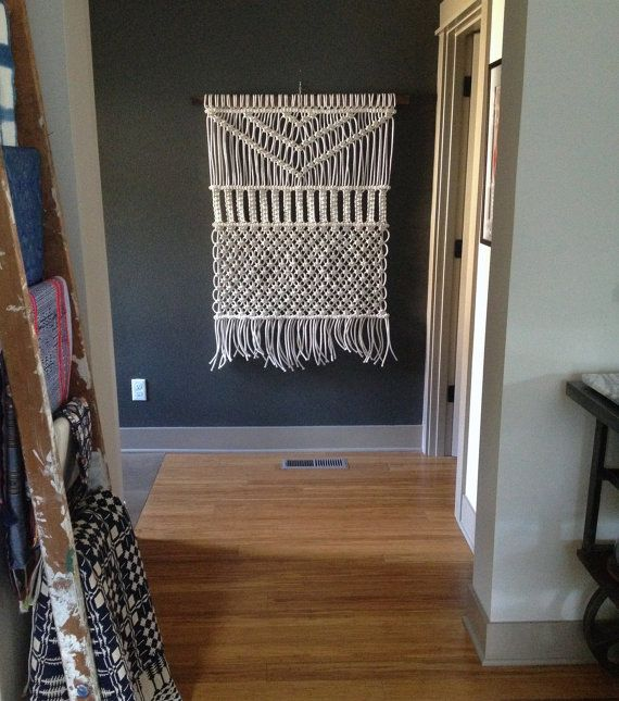 Wall Hangings Etsy 79 best macrame hanging images on pinterest | macrame wall