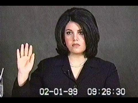 How Did Monica Lewinsky Get Caught? The Lewinsky Tapes Part 1 - Phone Ca...