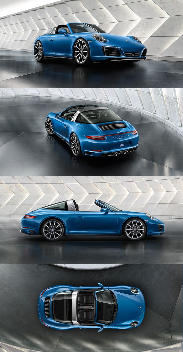 Conceived 50 years ago as a 'safety cabriolet', the Targa gained its reputation as a design icon thanks to its style- defining roll bar.    *Combined fuel consumption in accordance with EU6: 911 Targa 4 models: 9.0-7.9 l/100 km; 208-182 g/km