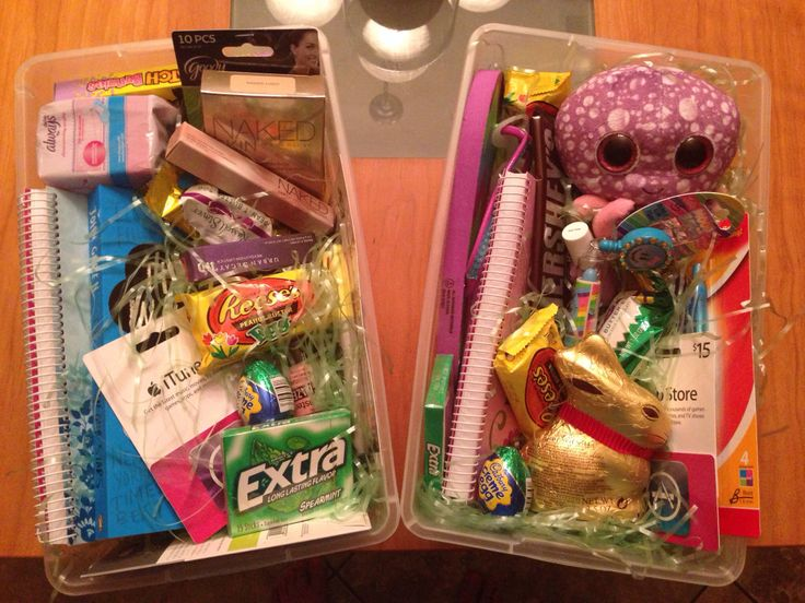 Easter Baskets for teens!!