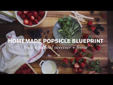 Homemade Popsicle Blueprint presented by The Honest Co. | Farm to Table Family | PBS Parents - YouTube