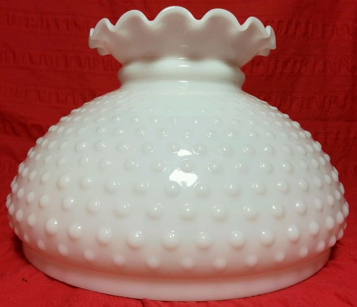 36 best lamp shades images on pinterest lamp shades lampshades vintage hobnail milk glass 10 student kerosene hurricane lamp shade replacement in collectibles lamps aloadofball Choice Image