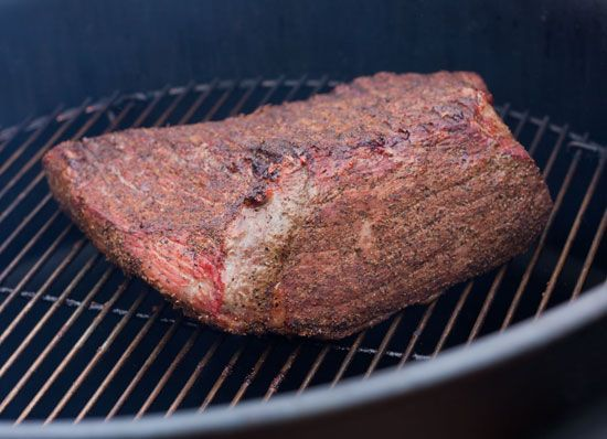 smoking pit beef on an ugly drum smoker internal temperature