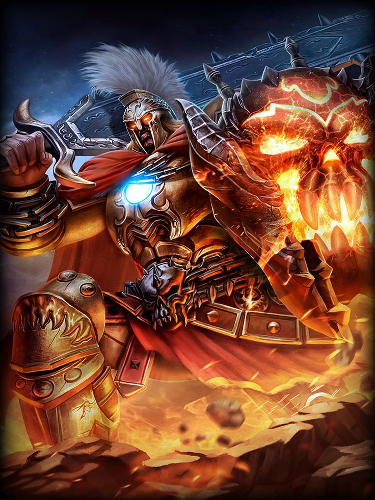 SMITE-HiRez Ares, God of War