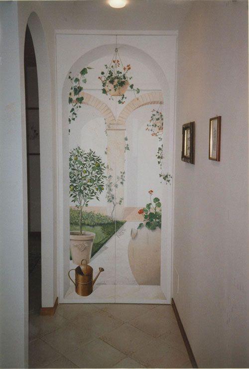 les 41 meilleures images du tableau trompe l 39 oeil et peinture murale sur pinterest trompe et mille. Black Bedroom Furniture Sets. Home Design Ideas