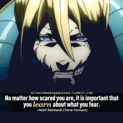 Terra Formars New World: 50 Best Quotes Images On Pinterest