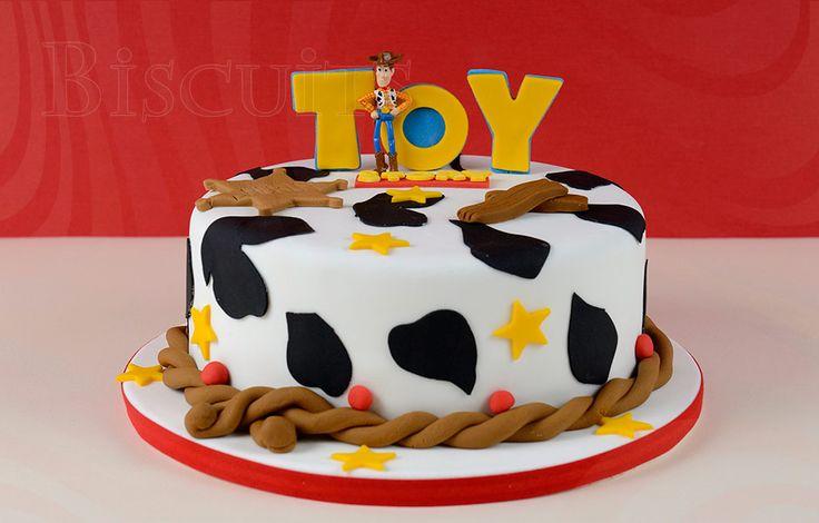 Torta decorada Toy Story – Woody | Biscuits - Pastelería Fina y Banquetería