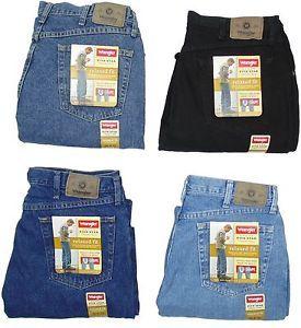 A Wrangler Para Hombre Jeans Relaxed Fit Five Star Muchos Tamanos Muchos Colores Nuevos Con Etiquetas Vaqueros Hombre Vaqueros Lee Hombres