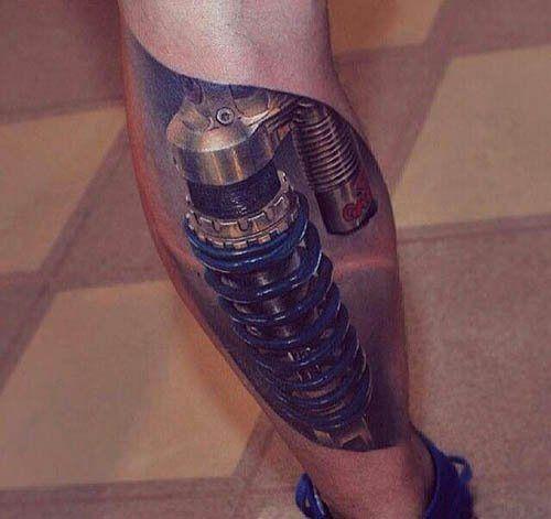 nice Tattoo Trends - Male Leg Tattoos - Inked Magazine