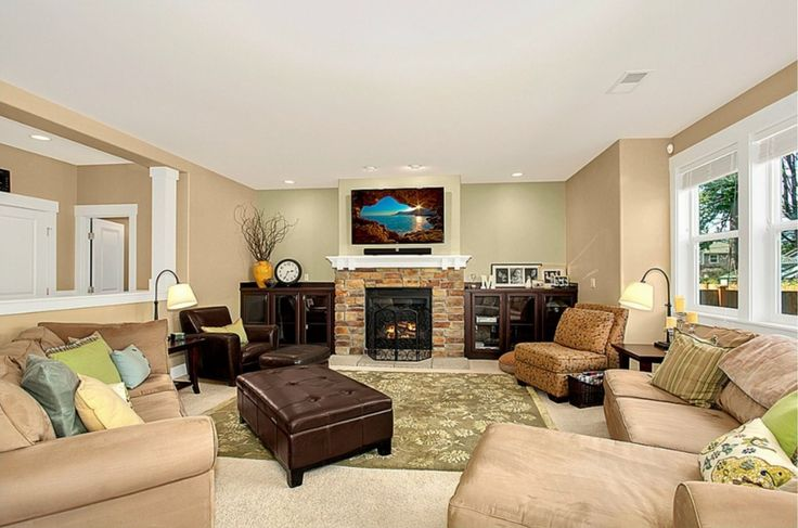 Living Room Paint Color Ideas With Brown Furniture Benjamin Moore