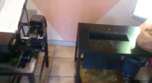 Maquina de corte de hoja de tabaco natural