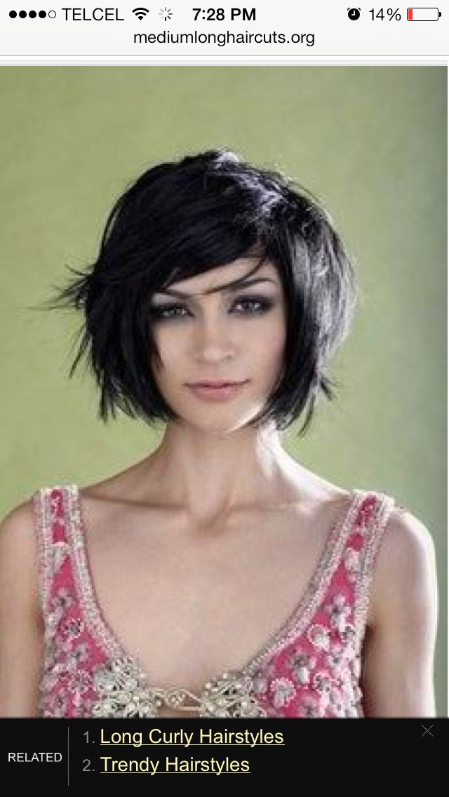 I like this short hair cut