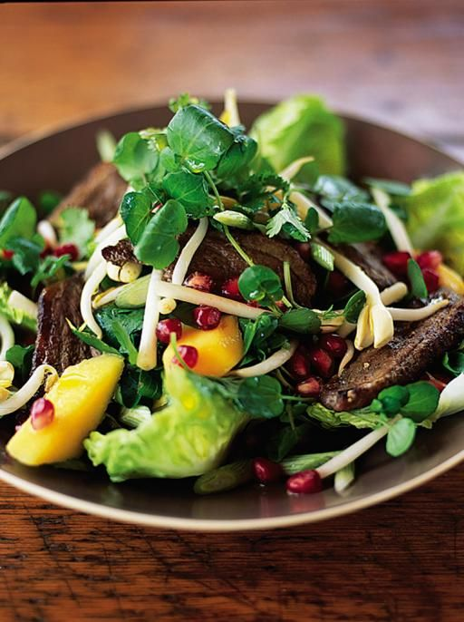 five spice duck salad