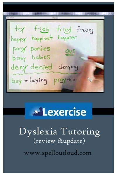 Dyslexia Treatment With Lexercise Updated From Spelloutloud