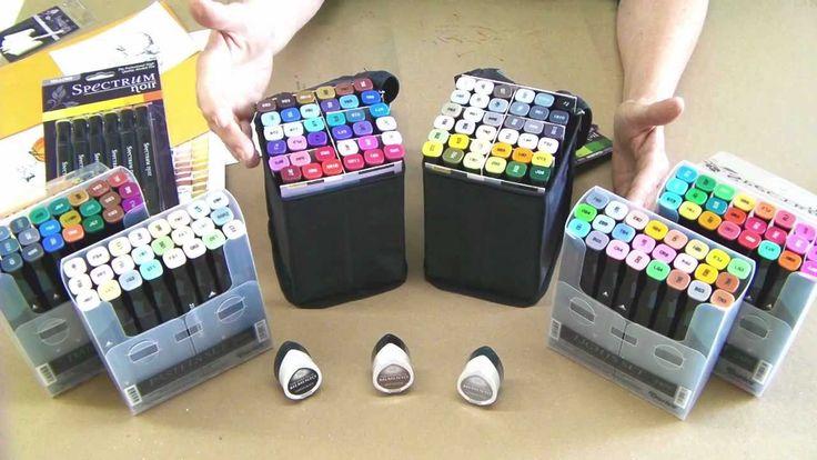 Basics: Introduction to Spectrum Noir Pens