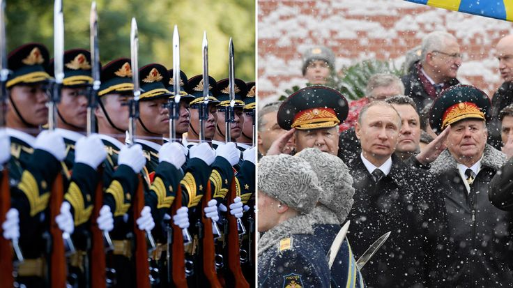 Russia and China are increasingly challenging the military superiority that the United States has held since the early 1990s.