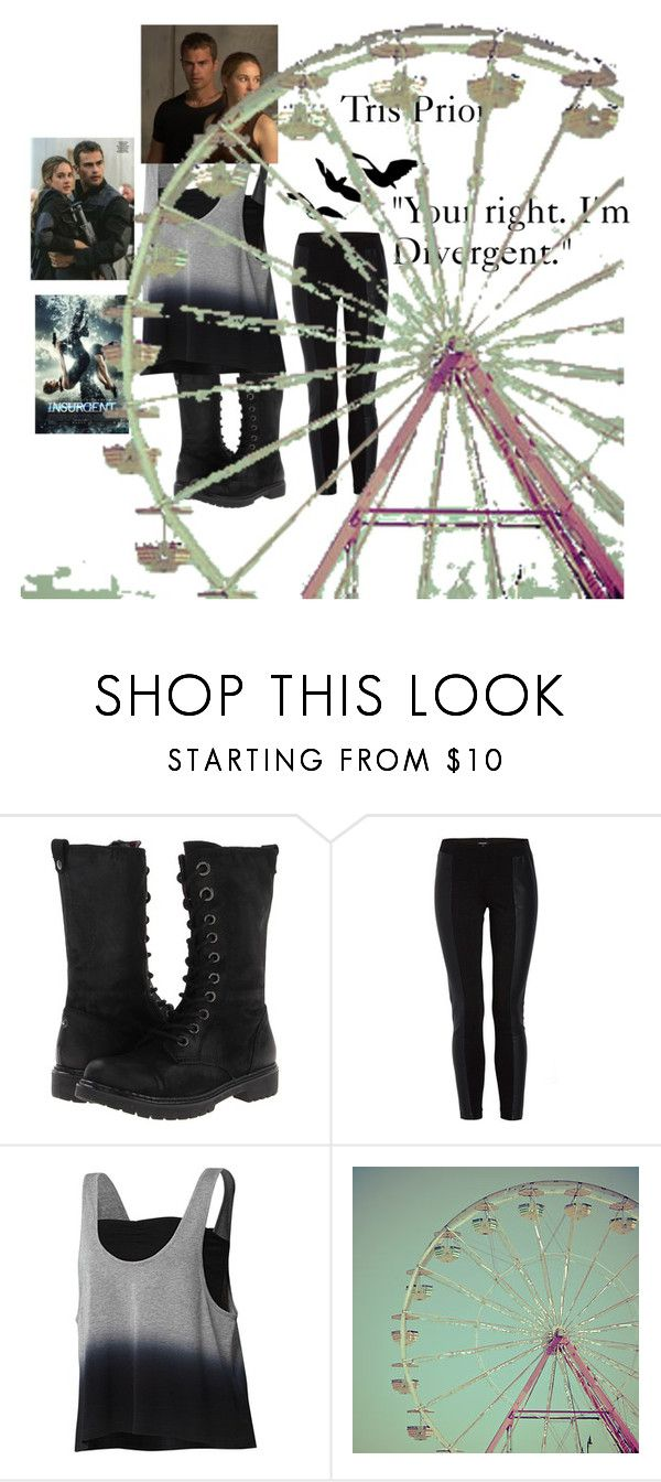 """""""Tris Prior- Divergent/ Insurgent (without the short hair)"""" by allie-peay ❤ liked on Polyvore featuring BC Footwear, Morgan, adidas and WALL"""