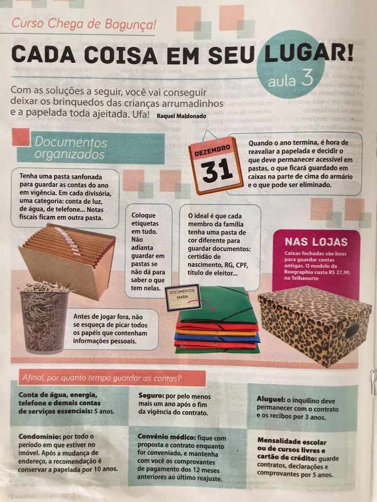Organize sem Frescuras | Rafaela Oliveira » Arquivos » Dicas de organização da casa para revista Ana Maria