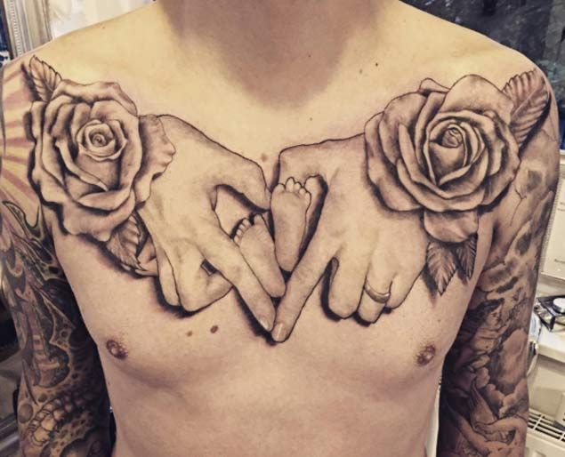 28 Brilliant Baby Tattoos For Only The Proudest of Parents - TATTOOBLEND