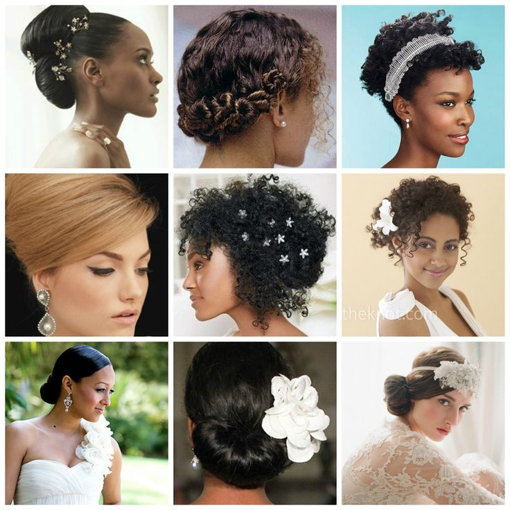 Wedding Hairstyles Natural Curly Hair, Wedding Hairstyles for ...