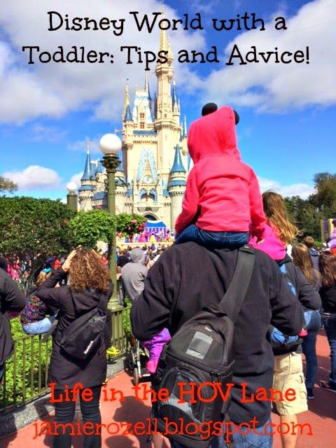 Life in the HOV lane : Disney World with a Toddler: Tips and Advice!