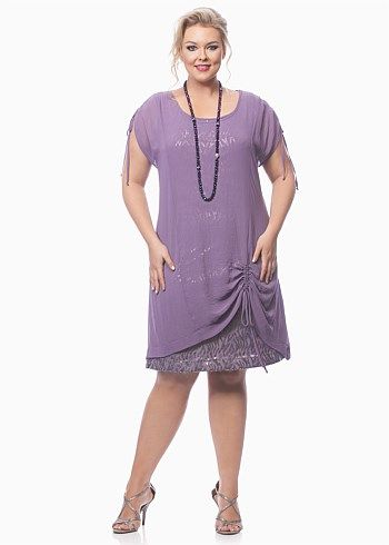 Special Occasion - TWO PARTIES DRESS - TS14